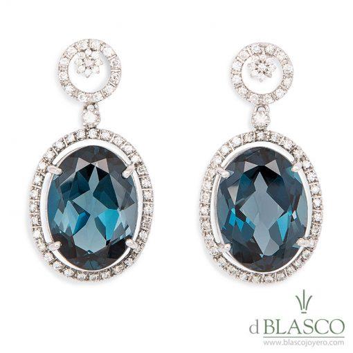 Blasco Joyero, joyerias en Murcia, joyas en Murcia, anitas y diamantes, pendientes exlusivos, Murcia, joyeria en Murcia, taller de joyeria en Murcia, Blasco, joyas unicas, joya de colección, sueños de Cartagena, topacios london blue