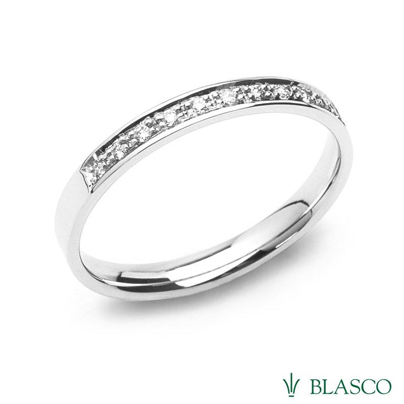 Alianza de diamantes-precio de fabricacion-joyerias enMurcia- joyeria-blasco