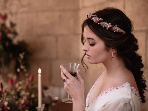 pendientes de novia diamantes y tanzanitas largos blasco joyero Murcia
