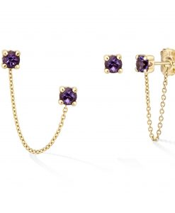 GOLD&ROSES-PENDIENTES-DOUBLE-ROCK-CHAIN