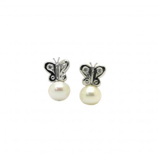 BLASCO-BASIC-Pendientes-Mariposas-+-perla-cultivada-oro-blanco-y-diamantes