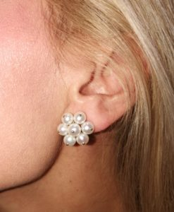 Pendientes orla perlas piña perlas Kate Blasco Joyero Murcia