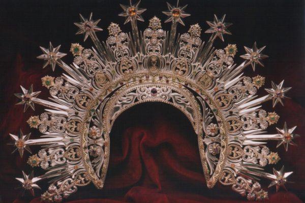 Corona de la Virgen de la Amargura. Paso Blanco de Lorca