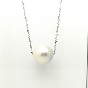 cadena colgante perla australiana blasco joyero taller joyeria en murcia
