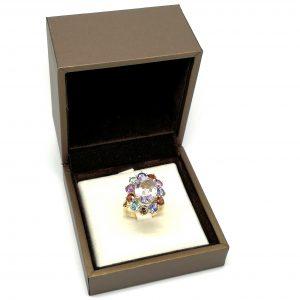 anillo gemas finas color blasco joyero joyeria en murcia
