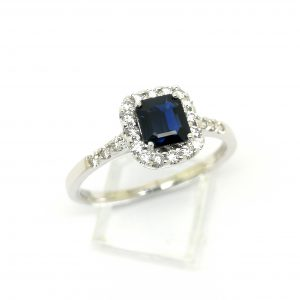anillo diamantes zafiro blasco joyero joyeria en murcia
