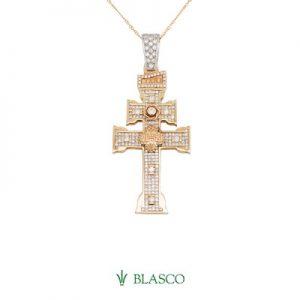 cruz de caravaca diamantes blasco joyero taller joyeria en murcia