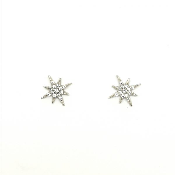 pendientes juveniles estrella diamantes blasco joyero joyeria en murcia