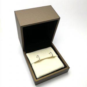 pendientes de aro diamantes brillantes aros criollas criollos especialistas en novia juvenil novia en blasco joyero taller joyeria en murcia
